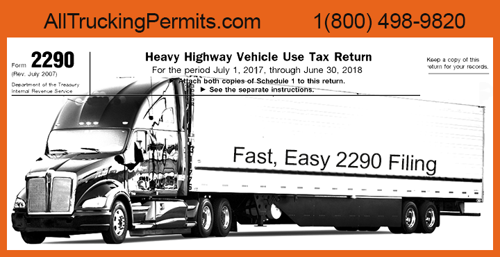 highway use tax 2290