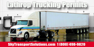 lathrop trucking permits