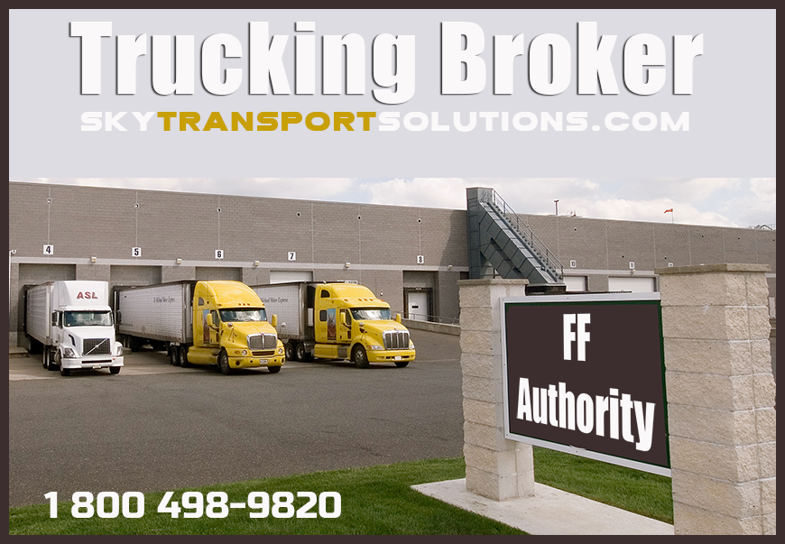 freight trucking brokers ff authority