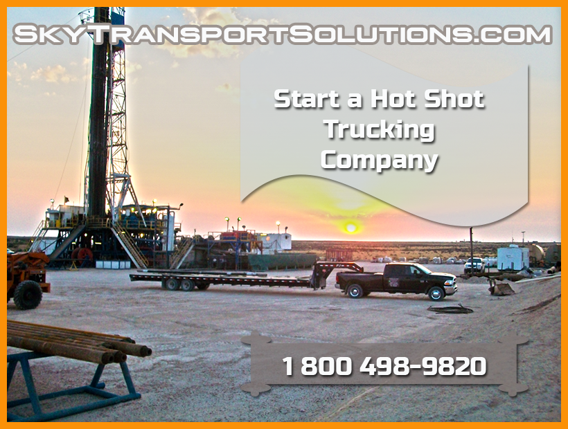 Start Hot Shot Trucking Company – Sky Transport Solutions