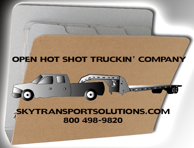 open hot shot trucking company