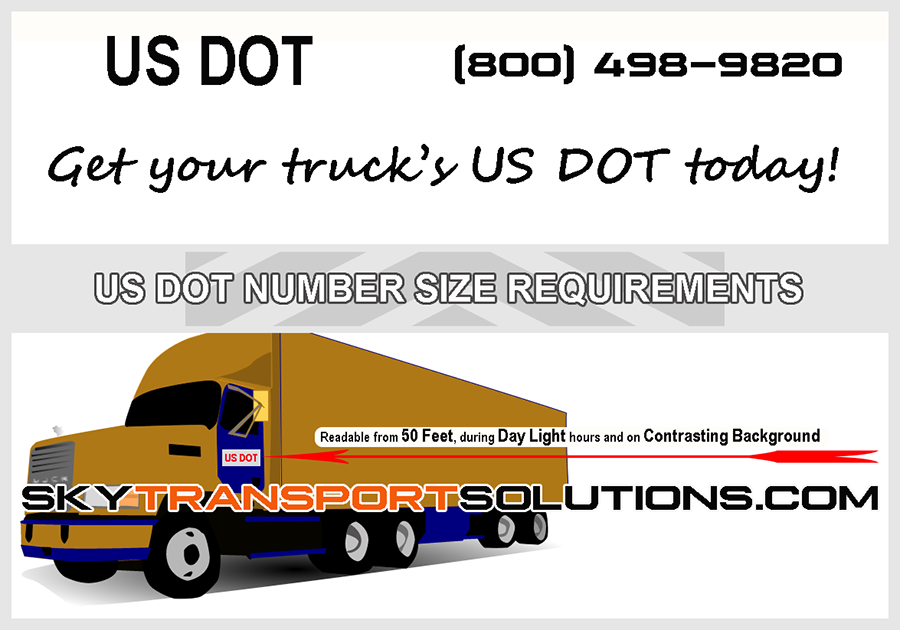 us dot number size